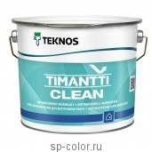 Teknos Timantti Clean Краска антимикробная для внутренних работ, , 2470 руб., Тиманти клин, Teknos / Текнос, Teknos