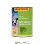 Масло деревозащитное для мебели и интерьеров Neomid Interior Oil