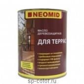 Масло деревозащитное для террас Neomid Terrasa Oil