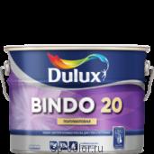 Dulux Bindo 20 полуматовая латексная краска для стен и потолков отличная укрывистость, , 670 руб., bindo 20, Dulux Делюкс, Краска для стен