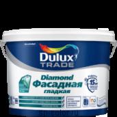 Dulux Фасадная Гладкая латексная краска для наружных работ, , 1460 руб., Dulux Фасадная гладкая, Dulux Делюкс, Для минеральных фасадов