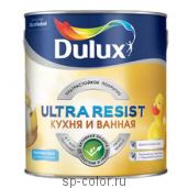 Dulux Ultra Resist полуматовая краска для кухни и ванной комнаты, , 720 руб., Ultra Resist для кухни, Dulux Делюкс, Краска для стен