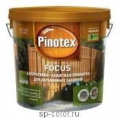 Pinotex Focus антисептик для наружных работ с воском