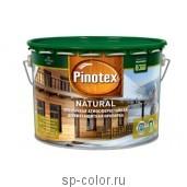 Pinotex Natural антисептик по дереву для наружных работ