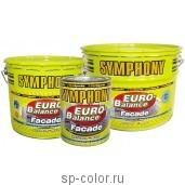 Symphony EURO-Balance Facade Siloxan краска для бетонных фасадов усиленная силиконом, , 450 руб., EURO-Balance Facade Siloxan , Symphony / Симфония, Краска фасадная