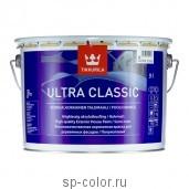 Tikkurila Ultra Classic полуматовая полиакрилатная краска для деревянных фасадов, , 735 руб., Ультра классик, Tikkurila / Тиккурила, Краска для дерева Tikkurila (Тиккурила)