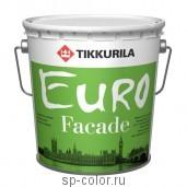 Tikkurila Euro Facade органоразбавляемая акриловая краска для минеральных фасадов , , 1070 руб., Евро Фасад, Tikkurila / Тиккурила, Для минеральных фасадов