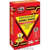 Плиточный клей - Юнис Плюс, , 140 руб., Для влажных помещений , Unis / Юнис, Плиточный клей