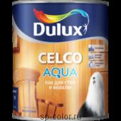 Dulux Celco Aqua 10 водный акриловый матовый лак для вагонки и мебели