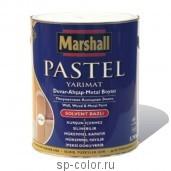 Marshall Полуматовая алкидная краска универсального применения, , 100 руб., Pastel Yarimat, Marshall , Эмаль универсальная