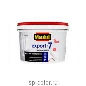 Marshall Export-7 Профессиональная матовая латексная краска для стен и потолков