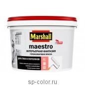 "Marshall Maestro ""Интерьерная фантазия"" Глубокоматовая краска для стен и потолков"