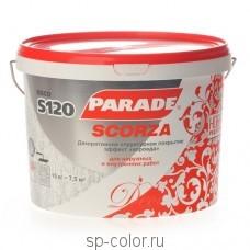PARADE DECO SCORZA S120 декоративное покрытие с эффектом короеда