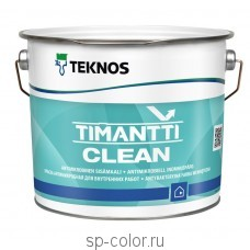 Teknos Timantti Clean Краска антимикробная для внутренних работ