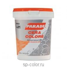 PARADE DECO CERA COLORE L 81 Воск для подчеркивания фактуры декоративной штукатурки