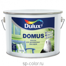 Dulux Domus полуглянцевая масляно - алкидная краска для деревянных фасадов