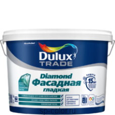 Dulux Фасадная Гладкая латексная краска для наружных работ