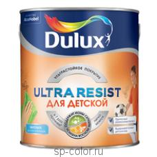 Dulux Ultra Resist матовая краска для детских комнат