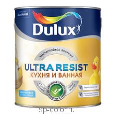 Dulux Ultra Resist полуматовая краска для кухни и ванной комнаты
