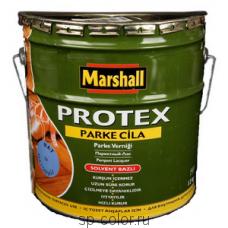 Marshall Protex Parce Cila 40 алкидно уретановый полуматовый лак для паркета и вагонки