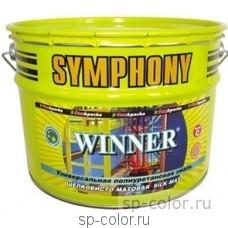 Symphony WINNER матовая полиуретановая универсальная эмаль для покраски дерева металла бетона