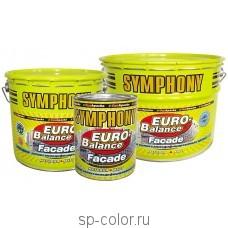 Symphony EURO-Balance Facade Siloxan краска для бетонных фасадов усиленная силиконом