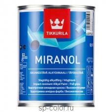Tikkurila Miranol универсальная высокоглянцевая алкидная эмаль по металлу и дереву для внутренних наружных работ