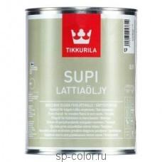 Tikkurila Supi Lattiaojy масло для пола во внутренних помещениях