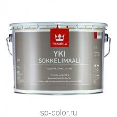 Tikkurila Yki щелочестойкая акрилатная краска для бетонных фасадов и цоколя