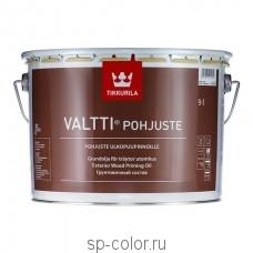 Tikkurila Valtti Pohjuste бесцветный грунтовочный антисептик наружный для дерева