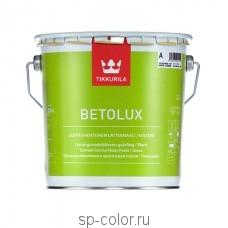 Tikkurila Betolux алкидная эмаль для покраски деревянных и бетонных полов