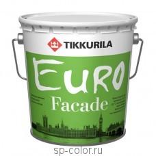 Tikkurila Euro Facade органоразбавляемая акриловая краска для минеральных фасадов