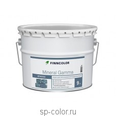 Finncolor Mineral Gamma фасадная акриловая краска для бетона