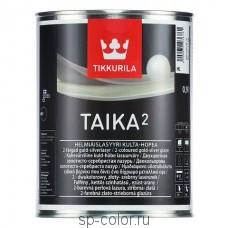 Tikkurila Taika 2 двухцветная перламутровая лазурь