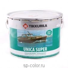 Tikkurila Unica Super полуматовый износостойкий уретано алкидный лак быстрого высыхания