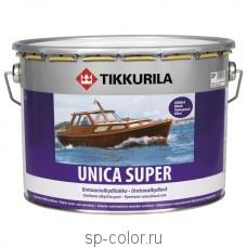 Tikkurila Unica Super высокоглянцевый износостойкий алкидно уретановый лак быстрого высыхания