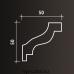 Европласт карниз с гладким профилем 1.50.103