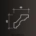 Европласт карниз с гладким профилем 1.50.115