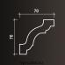 Европласт карниз с гладким профилем 1.50.141