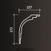 Европласт карниз с гладким профилем 1.50.147