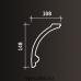 Европласт карниз с рисунком 1.50.107