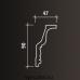 Европласт карниз с рисунком 1.50.127