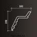 Европласт карниз с рисунком 1.50.137