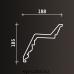Европласт карниз с рисунком 1.50.149
