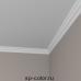 Европласт карниз с гладким профилем 1.50.173