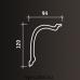 Европласт карниз с гладким профилем 1.50.180